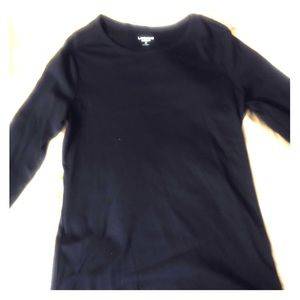 Black Long sleeve Landsend shirt